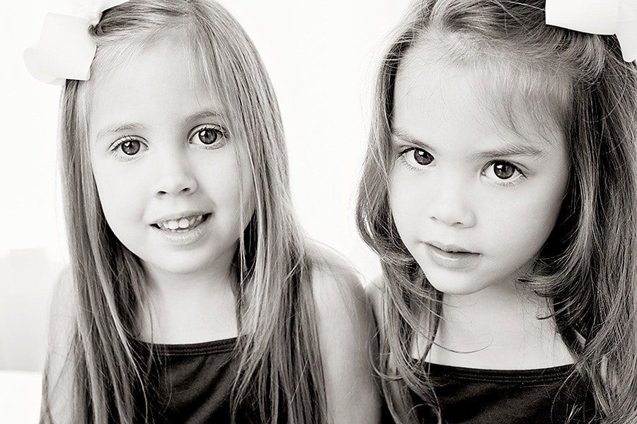 Adorable Little Sisters Photography