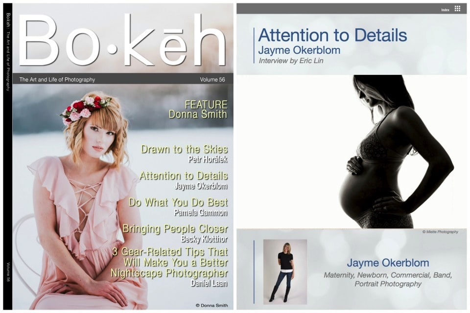 Bokeh Magazine Feature with Miette Photography