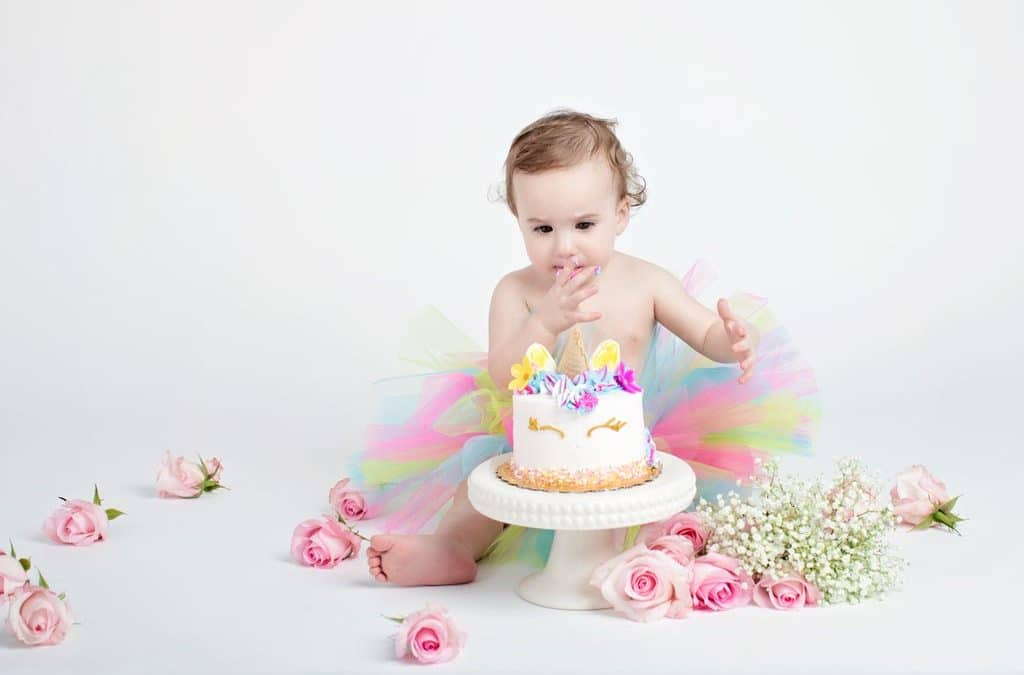 Bright and Beautiful Birthday | Dallas | First Birthday Session