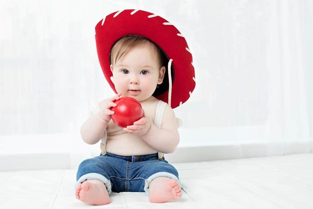 Beautiful baby in private dallas studio