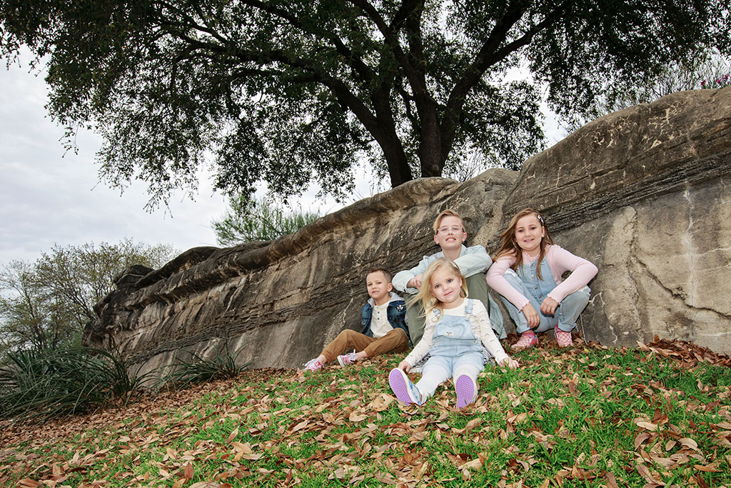 downtown dallas family session