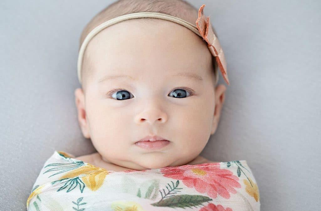 Girly Older Newborn | Dallas | Newborn Sessions