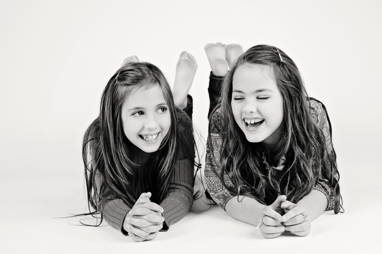 sister duo having a blast in the private studio in west dallas