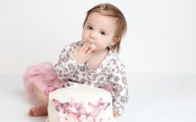 Fancy Cake Smash | Dallas | First Birthday