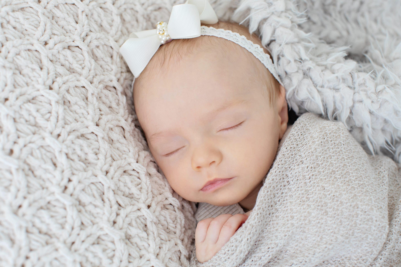 gorgeous newborn baby girl